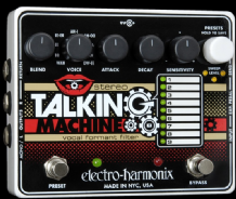 Electro Harmonix Stereo Talking Machine Guitar FX Pedal